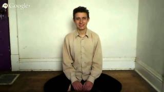 Sitting and Smiling Benjamin Bennett